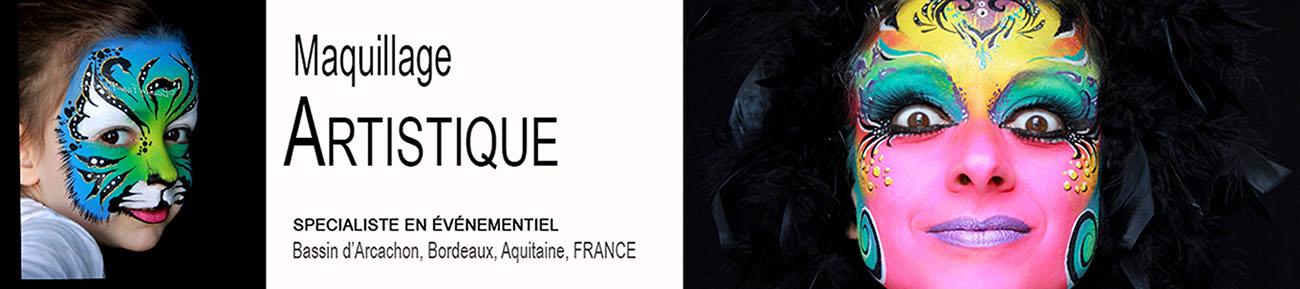 Maquilleuse Enfant Bordeaux - Animation Face Painting (Maquillage artistique) en Aquitaine/Gironde