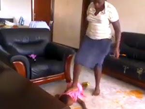 Thumbnail image for Video Pembantu Rumah Pijak, Baling, Tampar, Pukul & Sepak Anak Majikan Tersebar
