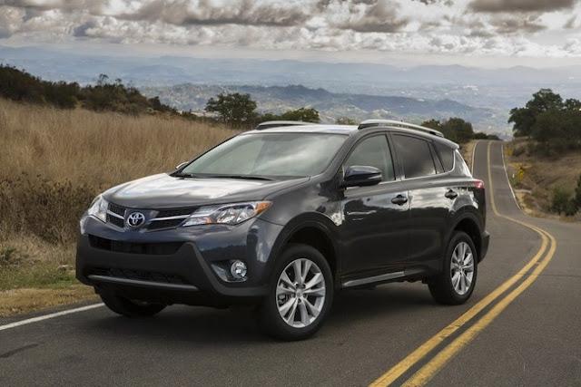 Toyota RAV4 2013 chính thức ra mắt