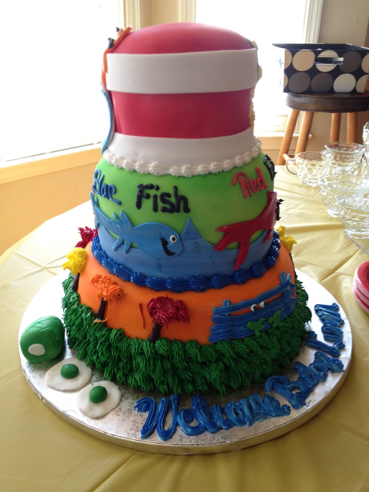 Publix Cake Designs For Baby Shower : The Creative Core: Dr. Seuss Baby Shower...