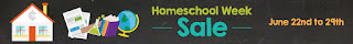 Homeschool Week Sale at Educents