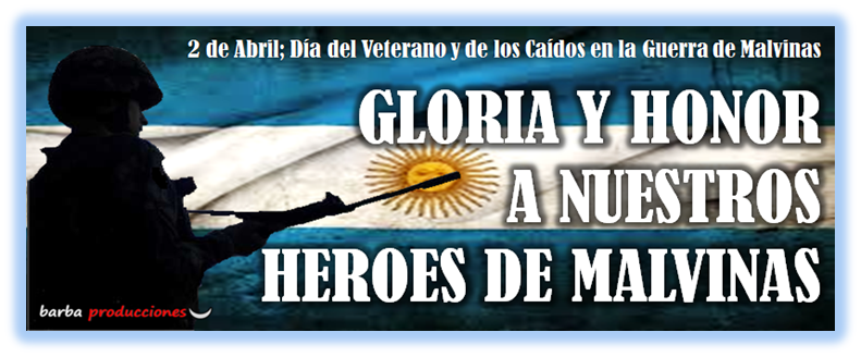 2 abril veteranos malvinas: