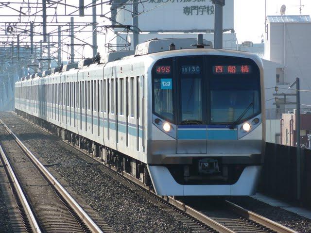 東京メトロ東西線 西船橋行き3 05N系