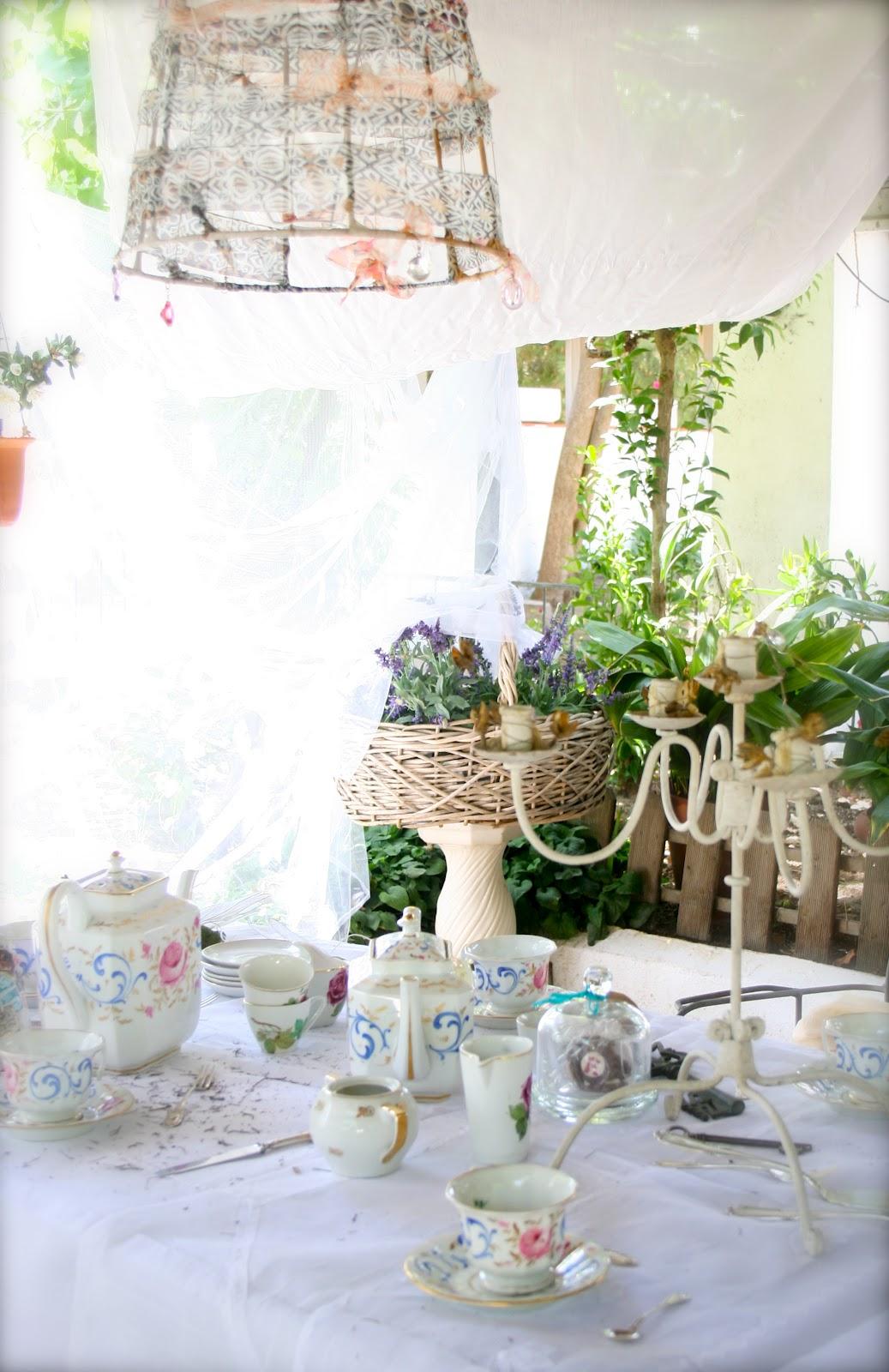 El atelier de las pulgas receta para una merienda for Preparacion de jardines