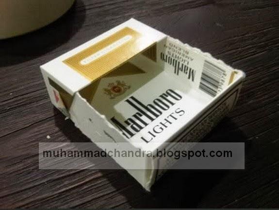 Cara Mudah Membuat Asbak dari Bungkus Rokok ~ KREATIVITAS