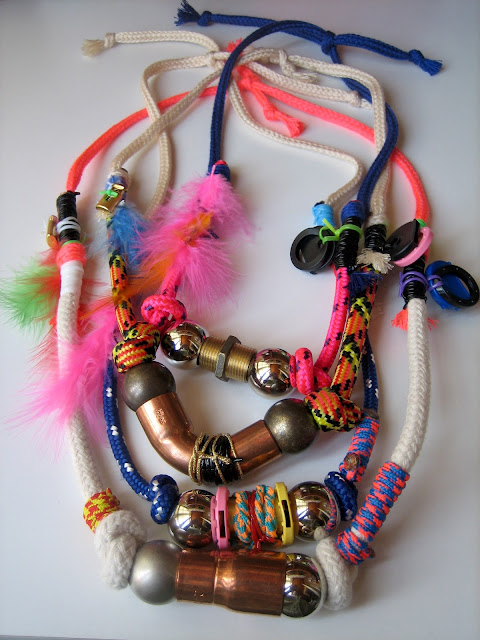 NEO WESTERN NECKLACES Domingo Ayala Handmade