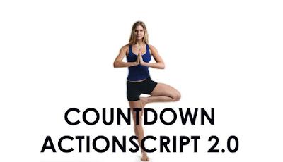 Membuat CountDown untuk Actionscript 2.0