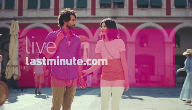 Canzone pubblicità lastminute.com 2015