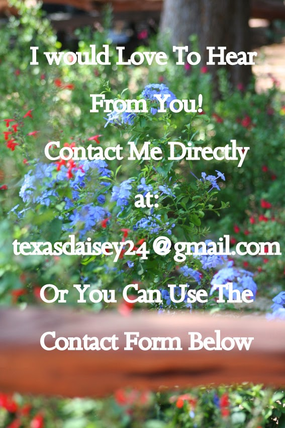 Contact me at Texasdaisey Creations