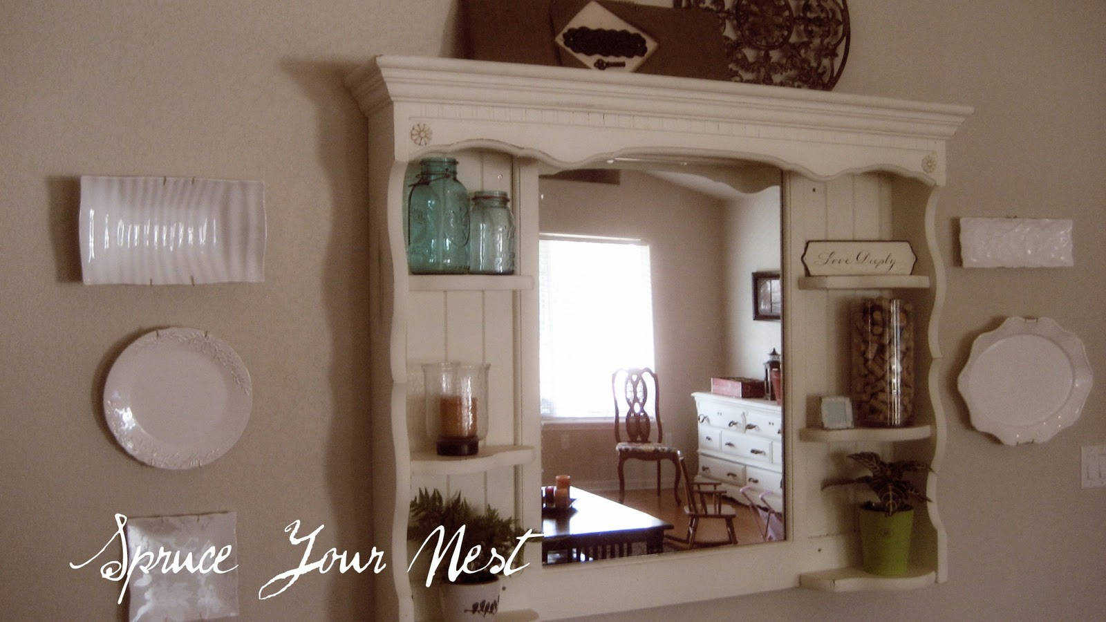 Spruce your nest projects for Best place for wall decor