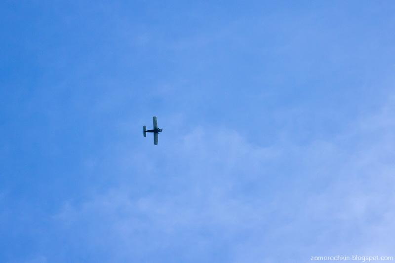 Самолёт. День города в Саранске