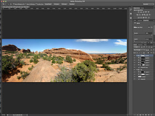 The powerful toolset in Photoshop for creating panoramic photos.