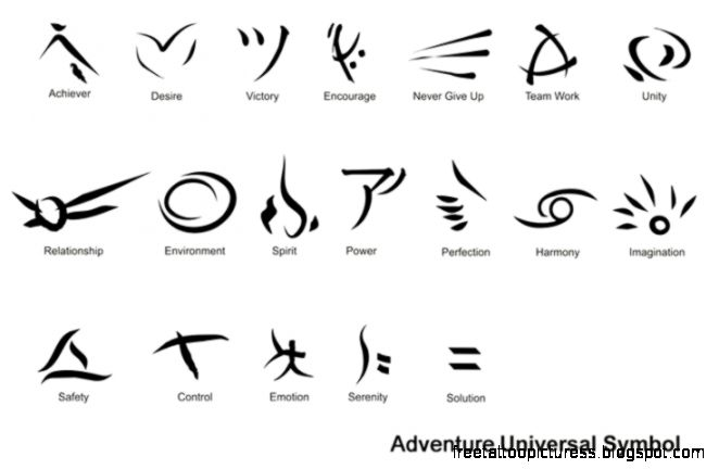 Tattoo symbols  tatoo  Pinterest