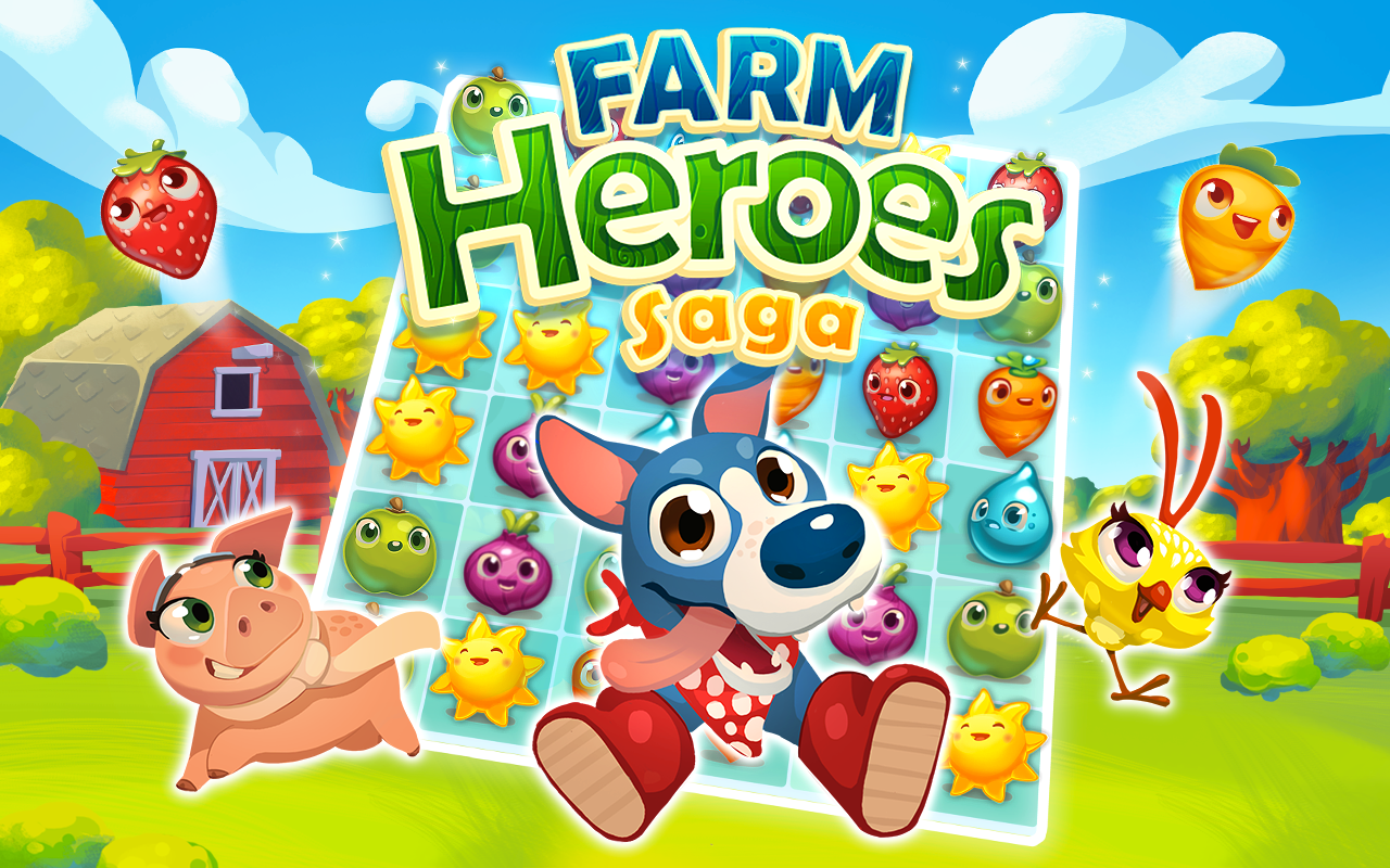 Download Farm Heroes Saga for PC