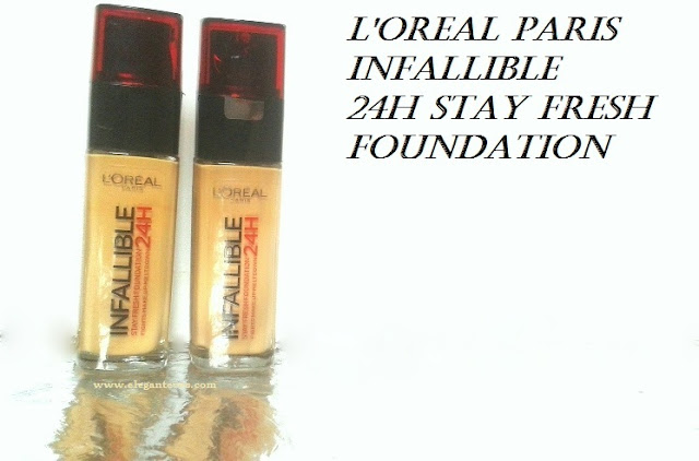 L'oreal Paris Infallible 24H Stay Fresh Foundation