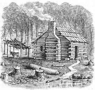 The yankee chef food history in yankee land Cabin drawings