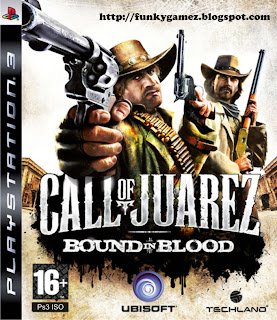 Call of Juarez: Bound in Blood - PS3 ISO Games Download