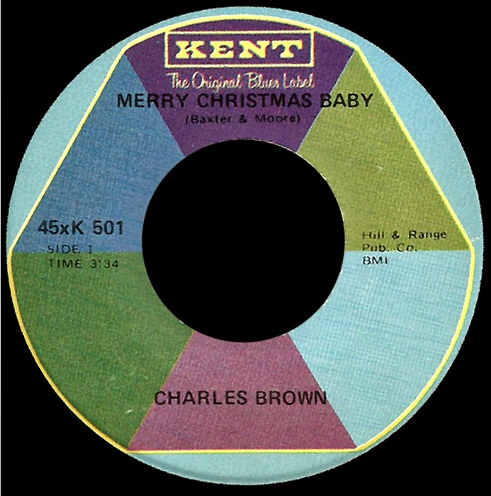 charles brown merry christmas baby kent 501