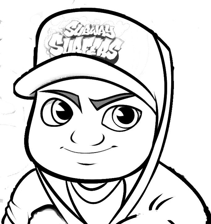 subway surfer coloring pages - photo#22