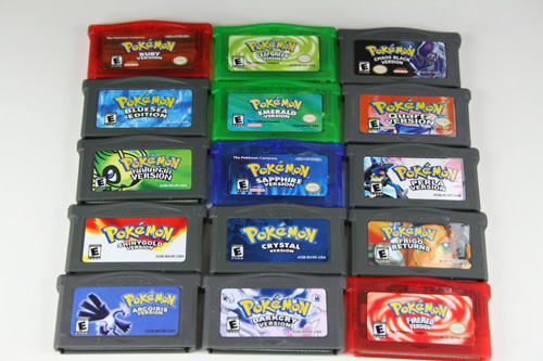 latest pokemon game on gba