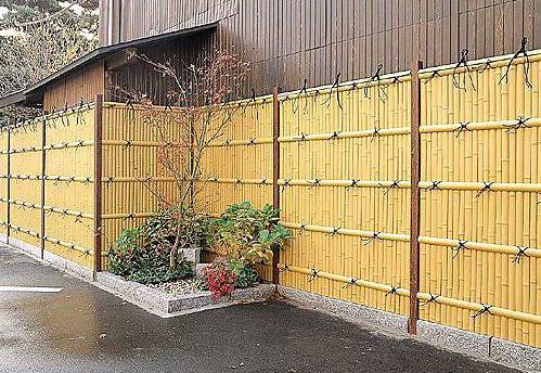 Gambar Pagar Bambu | Contoh Desain Pagar Dari Bambu ~ Mbegedut Blog