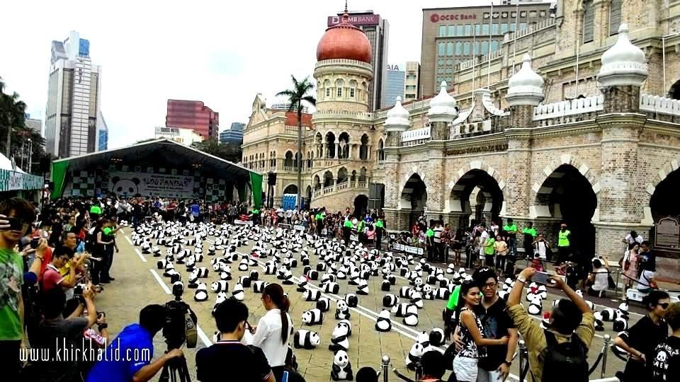 Jelajah 1600 Panda di Malaysia