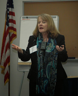 The training was lead by Peggy Burke of the National Parole Resource Center.