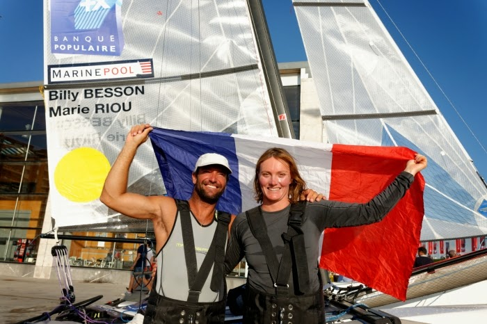 Billy Besson et Marie Riou champions du Monde à Santander !