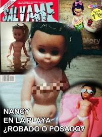 Nancy en la portada del Sálvame