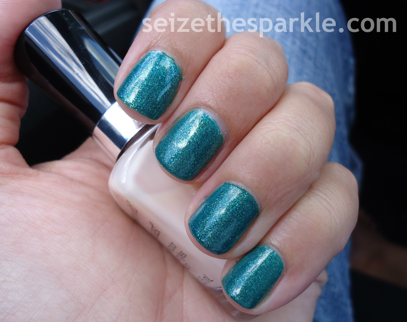 Emerald Layering Manicure