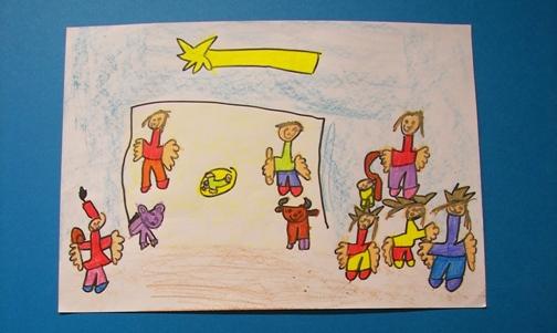espero que al verlos os inspiris para que podis hacer vuestra postal de navidad cmo veis son dibujos sencillos pero llenos de mensajes y color