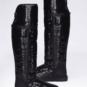 ugg australia bailey button sequin sparkles over the knee boots