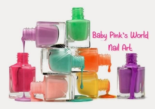 Baby Pink's World - Nail Art