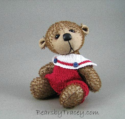 mohair bear, teddy bear, collectable