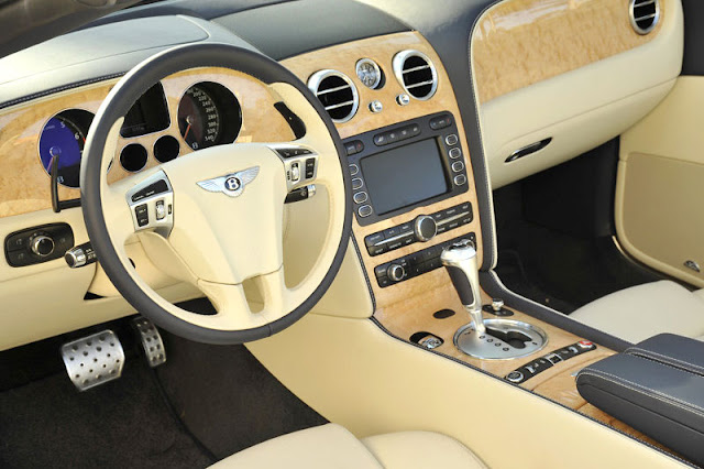 2010 Bentley Continental GTC Speed Front Interior