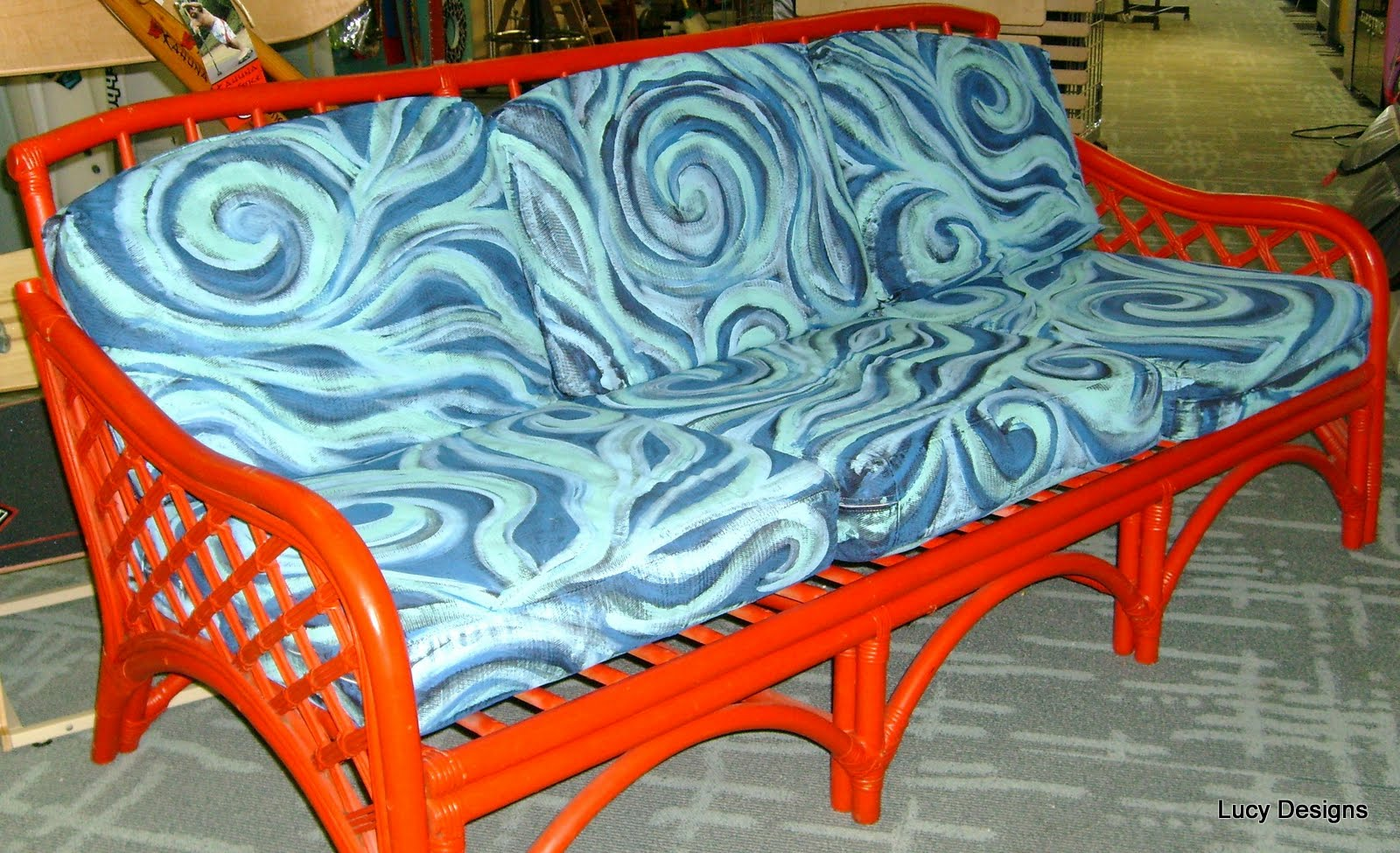 hand painted fabric cushions. How to Paint on Fabric Hand Painted Designs  Chair Cushions