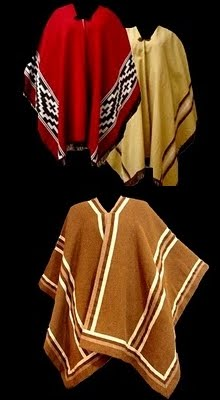 Ponchos varios modelos e cores,M e F .