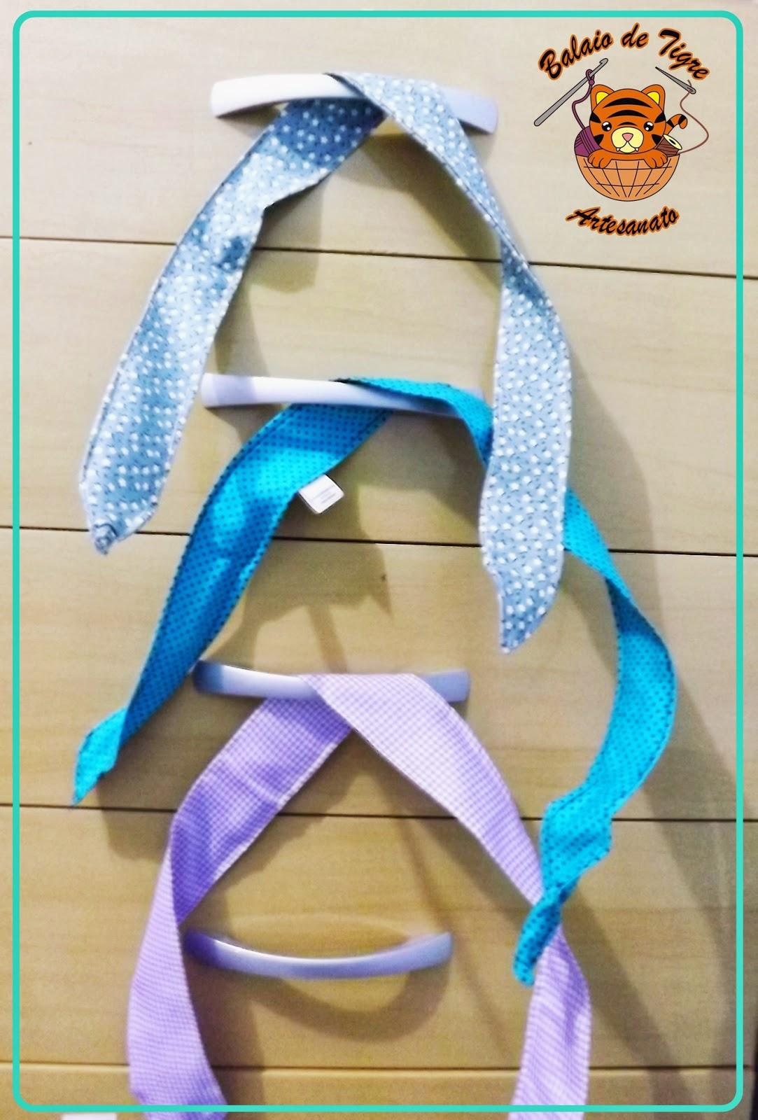 dolly bows faixa cabelo balaio de tigre artesanato