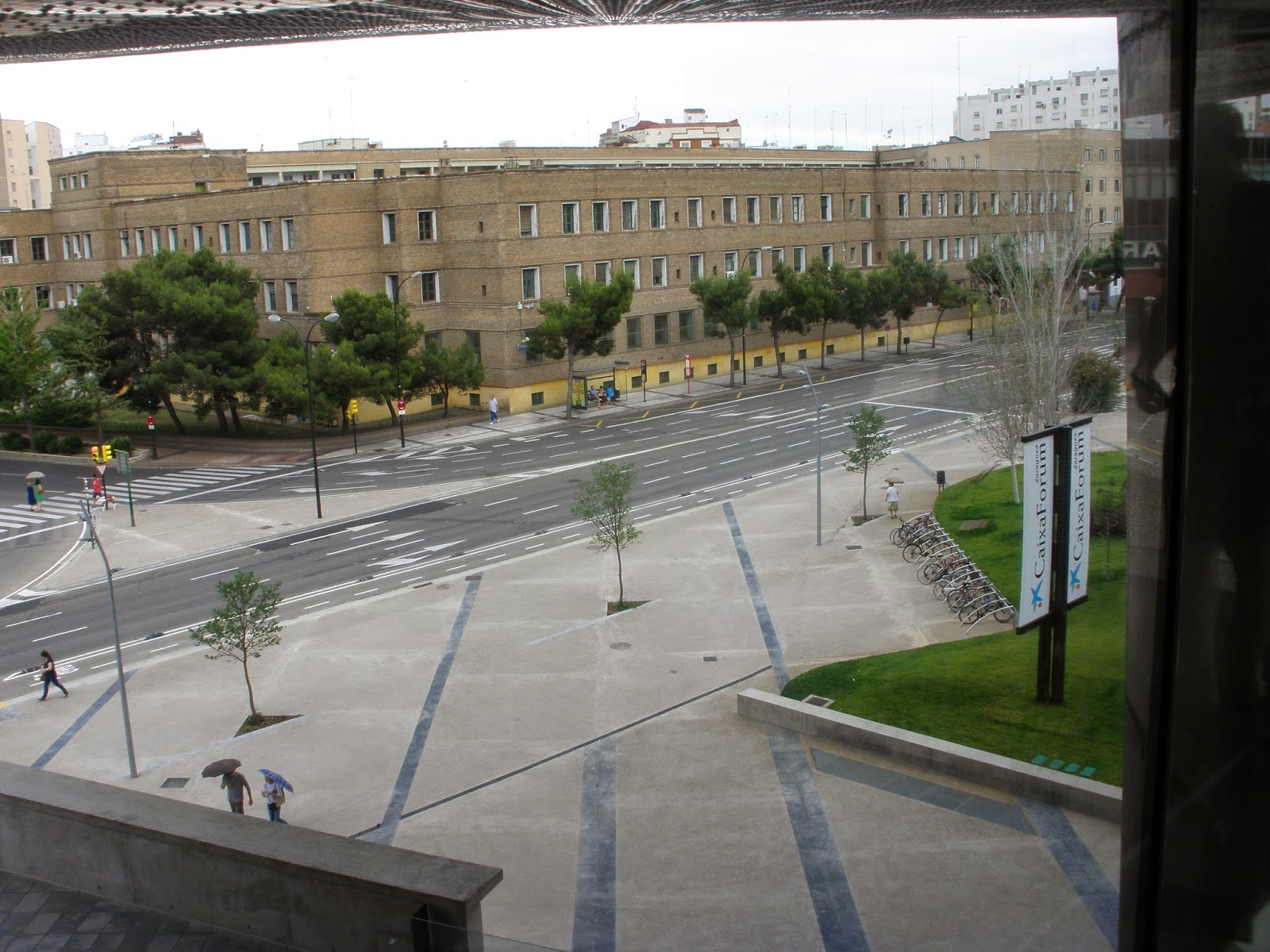Plaza CaixaForum Zaragoza