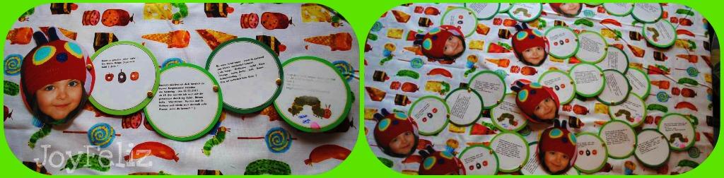 kleine raupe nimmersatt kindergeburtstag teil 1 - diy | joyfeliz, Einladung
