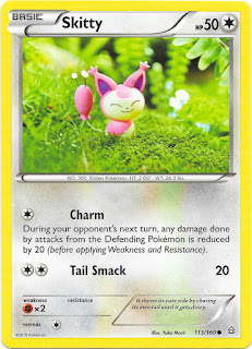 Skitty Primal Clash Pokemon Card