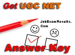 CSIR UGC NET 23 June Answer Keys 2013 Exam