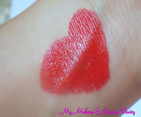 bourjois rouge edition lipstick 13 rouge jet set Swatch+bourjois lipstick swatch+ classic red lipstick
