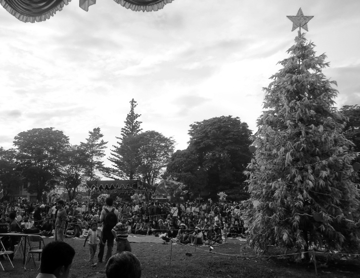 Puluhan ribu umat Kristiani Salatiga merayakan Natal bersama di