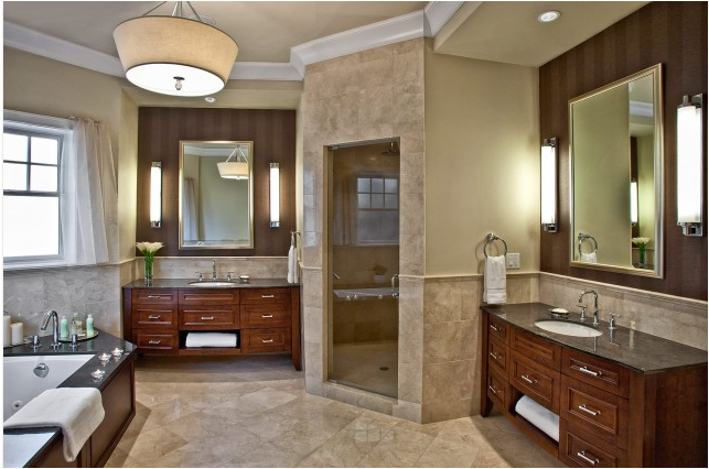 tuscan bathroom design ideas - Tuscan Bathroom Design