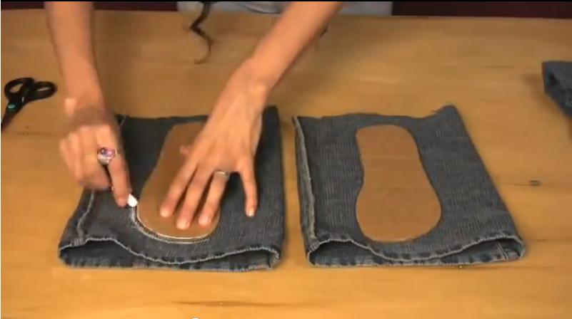 Брошь ткань своими руками