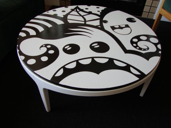 Marvelous Lane Coffee Table Remix By Street Artist   $300 (Lowell) Http://boston. Craigslist.org/nwb/fuo/3418820263.html