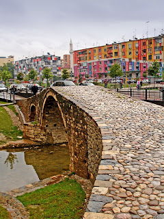 photo of albania tirana old bridge