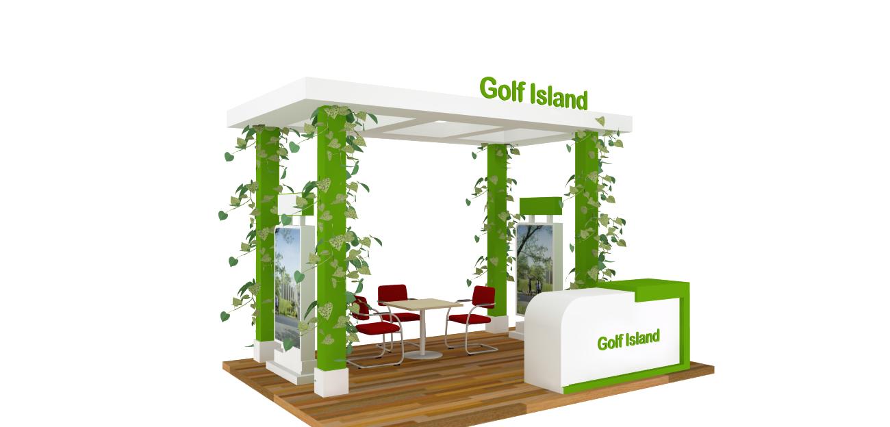 golf island - HOKIBOOTH