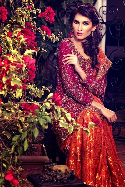 Umsha by Uzma Latest Bridal Dresses Collection